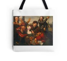 The Calling of Matthew ,  Workshop of Jan Sanders van Hemessen (Netherlandish, active by  Tote Bag