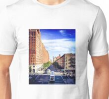 Looking down from The Highline, 2 Unisex T-Shirt