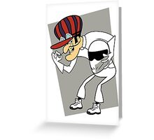 The Stig Unmasked! Greeting Card
