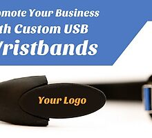 Promote Your Business with Custom USB Wristbands by Flash Drive