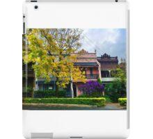 Terrace houses in Woolhara, Sydney iPad Case/Skin