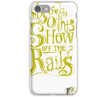 Amusing metaphors iPhone Case/Skin