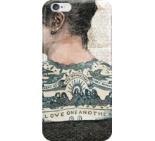 Vintage Ink - Love One Another iPhone Case/Skin