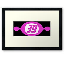 Space Channel 39 Framed Print