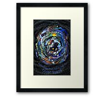 Psychedelic Space  Framed Print