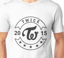 twice 2015 black Unisex T-Shirt
