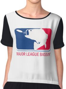 Major League Bass funny fishing Chiffon Top