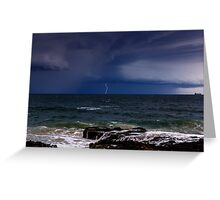 Approaching Thunder Storm Greeting Card