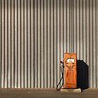 rusty petrol pump by Susan Segal