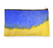 Blue against yellow Studio Pouch