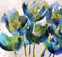 Forever Loving Blue by ksgfineart