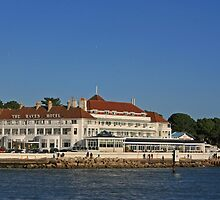 Haven Hotel, Sandbanks by RedHillDigital