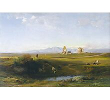 A View Of The Roman Countryside, Jean-Achille Benouville Photographic Print