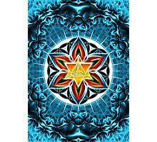 Merkaba, Flower Of Life, Metatrons Cube, Sacred Geometry Photographic Print