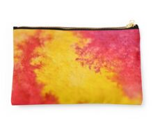 Red against yellow Studio Pouch