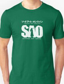 Sword Art Online Funny Logo Unisex T-Shirt