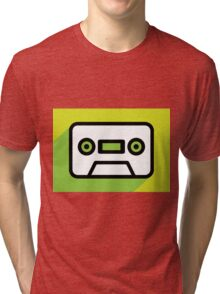 Audio tape icon Tri-blend T-Shirt