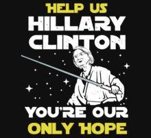 Save us Hillary! Baby Tee