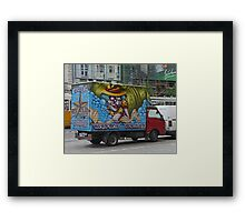 It Pays to Advertise Framed Print