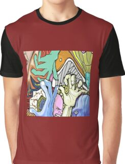 Abstract Collaboration with JKArts Graphic T-Shirt