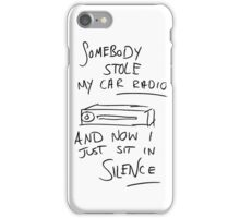 Tyler's Car Radio iPhone Case/Skin
