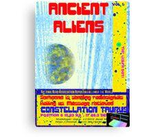 Alien Report Canvas Print