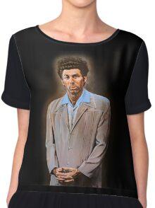 Kramer painting Chiffon Top
