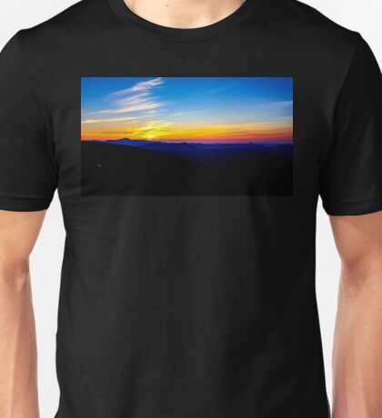 Sunrise over Mount Washington Unisex T-Shirt