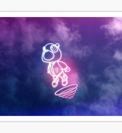 Kanye West Graduation Bear Sticker