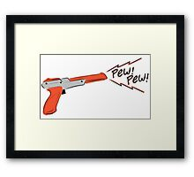 Cute Nes gun Framed Print