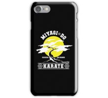 Karate Kid - Mr Miyagi Do Yellow Variant iPhone Case/Skin