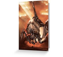 Reaper Destroyer Greeting Card
