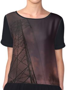 Electricity of the world Chiffon Top