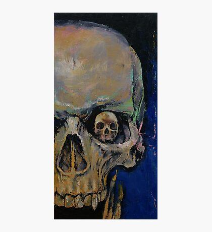 Vampire Skull Photographic Print