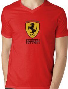 Ferrari  Mens V-Neck T-Shirt