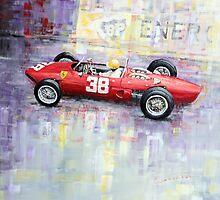 1962 Ricardo Rodriguez Ferrari 156 by Yuriy Shevchuk