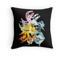 Eeveelutions Throw Pillow