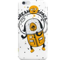 Dream in space iPhone Case/Skin