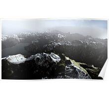 3D Landscape : Sky Fly - The Lake Poster