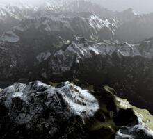 3D Landscape : Sky Fly - The Lake Sticker