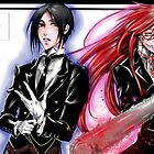 Sebastian and Grell by Furiarossa