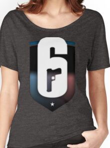 R6 Rainbow Six Siege inspired logo Women's Relaxed Fit T-Shirt