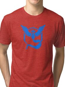 Pokemon GO Team Mystic Logo Tri-blend T-Shirt
