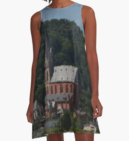 Church Of Our Lady Oberwesel A-Line Dress