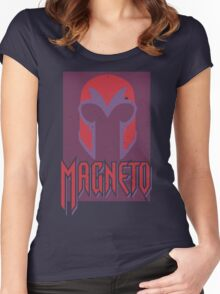 Magneto •The Helmet Women's Fitted Scoop T-Shirt