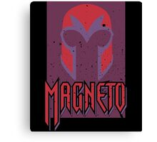 Magneto • The Helmet Canvas Print