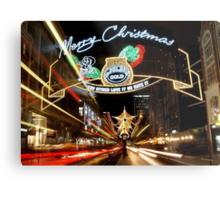 Christmas in London Metal Print