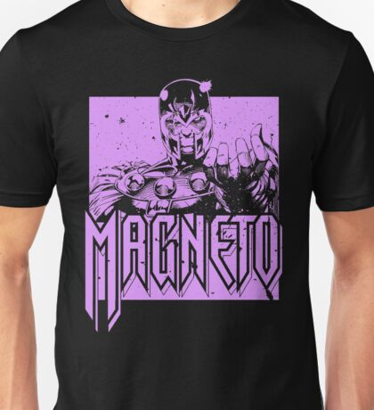 Magneto - Purple Unisex T-Shirt