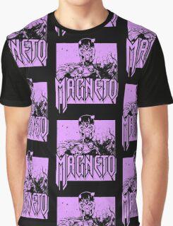 Magneto - Purple Graphic T-Shirt