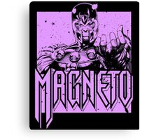 Magneto - Purple Canvas Print